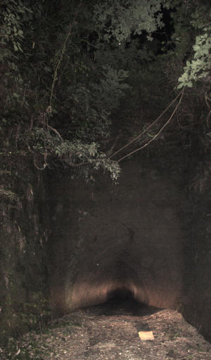 写真:トンネル入口