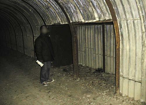 写真:トンネル内部2